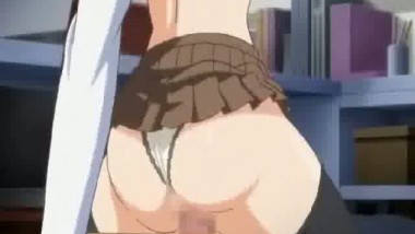 A Tiny Schoolgirl Gets Drilled Hard