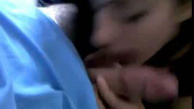 Shy Indian Girl shakti sucking dick in Hotel Room Scandal