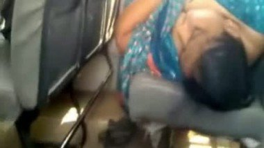 Desi Lady Shows Cleavage While Sleeping