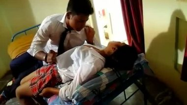 Indian sex tube of college girl sex in uniform