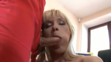 Sexy Office Blonde Loves To Fuck Her Boss