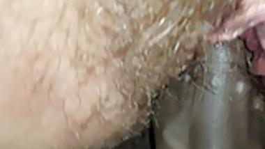 Wet hairy slut fucked to orgasm