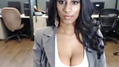 Indian Call Center Girl Masterbates