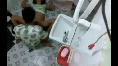 Hot indian hidden cam shower sex video