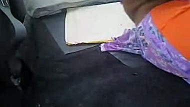 Indian wife gets groped in a car