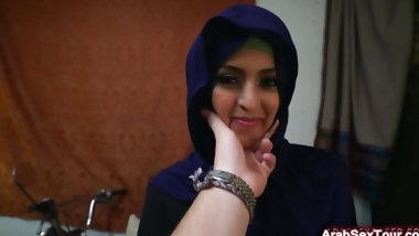 Slutty Arab Babe Receives Cock In Pussy While Riding