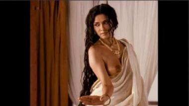 Boob Show Of Bollywood Actress Nandana Sen