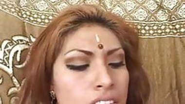 sexy indian slut likes a creampie