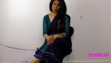Horny Lily As Unfaithful Tamil Wife
