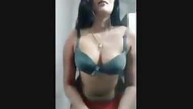 South Indian actress Swathi Naidu in undergarment