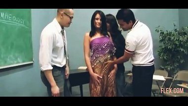 indian Mom fuck by three some hardly