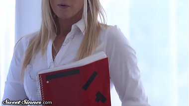 SweetSinner MILF College Prof. Drilled by Obsessed Student
