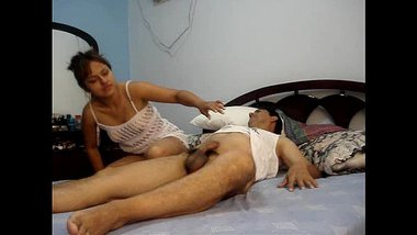 amateur indian couple sex watching a porn movie