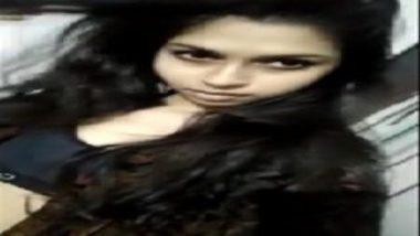 Hot mumbai girl stripping selfie sex mms