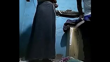 Desi aunty fucked in her bedroom with Hindi Audio