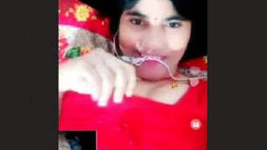 Hot Punjabi Girl Showing Her Big Boobs On Video Call
