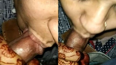 Chubby housewife erotic blowjob to her husband