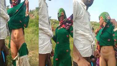 Rajasthani outdoor sex MMS video
