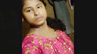 Indian Village College girl clip