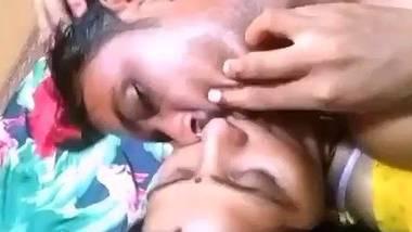 Village couple romantic foreplay
