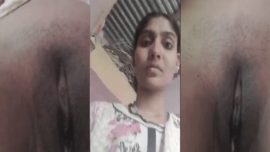 Tamil girl pussy show video