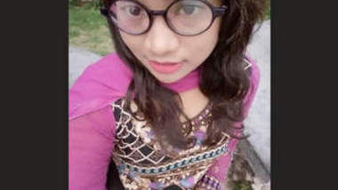 Bangladeshi Girl Imana Hafiz from Khulna Fingering Vdo
