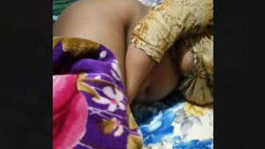 Aunty captured nude while sleeping