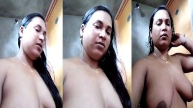 Desi Bhabhi nude bath video for her FB friend goes live