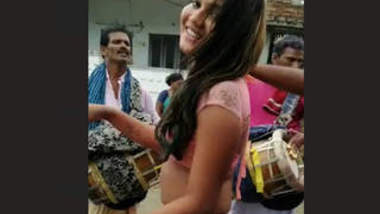 Desi Nude Dance in Public