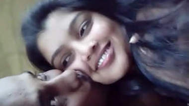 Desi Girl Giving kissing & blowjob to Lover