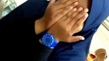 Desi Chubby Girl getting Boobs pressed & Fingering