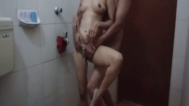 Desi Bhabhi fucked in the bathroom by her Devar