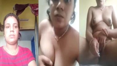 hot new Desi Bhabhi nude selfie MMS video