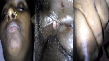 Dusky mature Dehati wife enjoying hot sex with neighbor