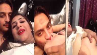 Young Punjabi lovers sex video with full audio leaked online