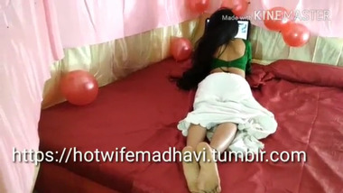 Indian sexy girl enjoying and doing romance on Valentines Day