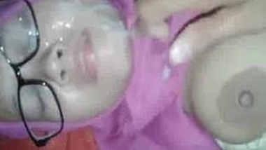 bangladeshi girl facialed with thick cum