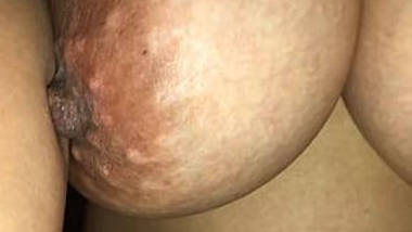wifes soft bouncing tits