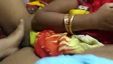 horny desi wife pooja gupta sucking cock and hubby ingering her pussy