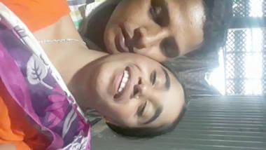 bangla bhabi boobs pressing and kissing by lover