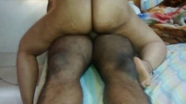 South Indian married wife Vani riding on her servant dick
