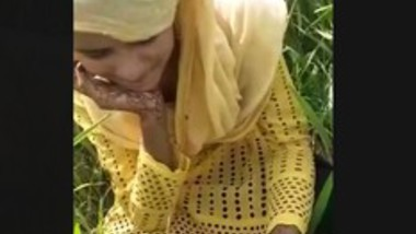 Desi village girl outdoor