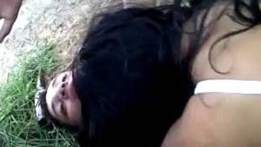 Outdoor Fucking young couple.