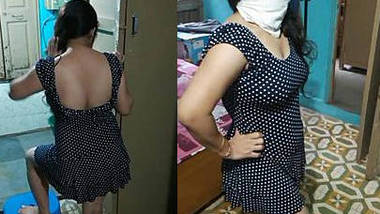 Bhabhi sexy figure in hot dress