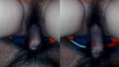Desi Village wife hairy pussy fucked by hairy cock