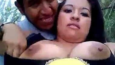 Outdoor desi boob sex