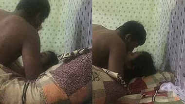 Desi wife unhappy with her man as he is recording with audio