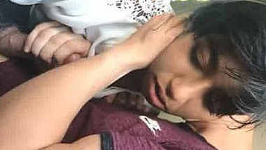 Pakistani girl sucking nri bf dick
