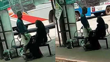 mallu mature couple handjob in bustand