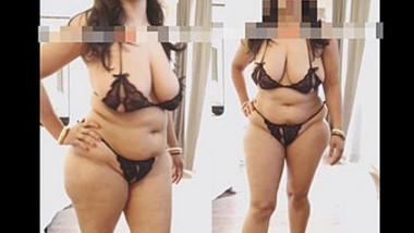 Desi big Chubby Assed bhabi sexxy bikini catwalk
